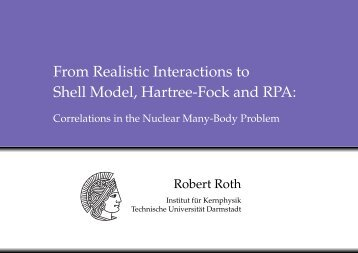 From Realistic Interactions to Shell Model, Hartree-Fock and RPA: