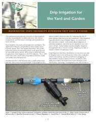 Drip Irrigation for the Yard and Garden - Washington State University