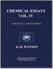 CHEMICAL ESSAYS, VOL. IV - World eBook Library