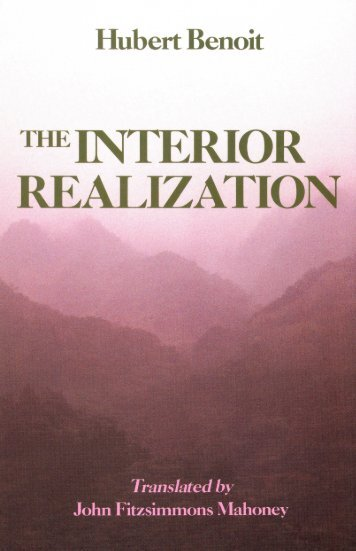 Hubert Benoit - The Interior Realization.pdf