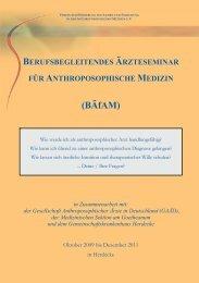 Download Programm - Gesellschaft Anthroposophischer Ärzte in ...