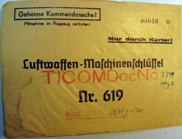 Luftwaffen-Maschinenschlüssel Nr. 619