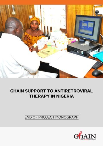 ghain support to antiretroviral therapy in nigeria - Family Health ...