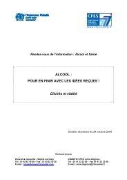 alcool, pour en finir avec les idées reçues - Inpes