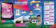 plaquette du Centre Social - Centre Social Vallée Violette