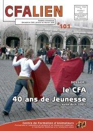 cfalien - CFA - Centre de Formation d'Animateurs asbl