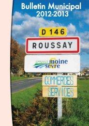 Bulletin Municipal - Mairie de Roussay