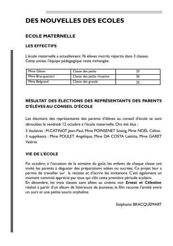article ecoles et associations dec 2012 - Villiers-en-Lieu (52)