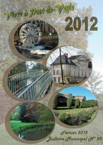 Bulletin Municipal 2012.indd - Pont-de-Veyle