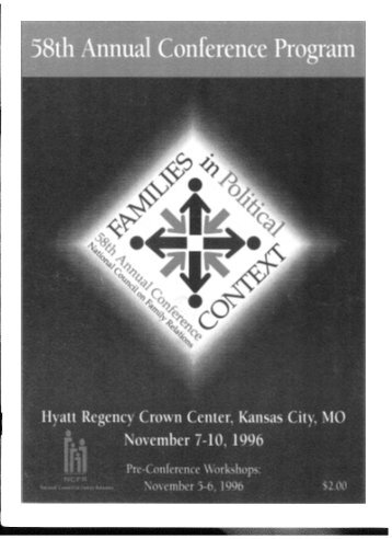 1996 NCFR Annual Conference - National Council on Family ...