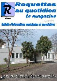 Février 2007 N° 88 - Roquettes