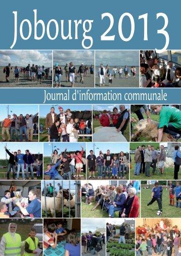 JOBOURG 36P BULLETIN 2013.indd - Mairie de Jobourg