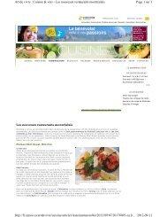 Page 1 sur 3 Art de vivre : Cuisine & vins - Les nouveaux restaurants ...