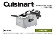 Friteuse CDF-250C - Cuisinart