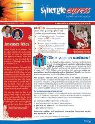 15 décembre 2011 - Santé Montérégie
