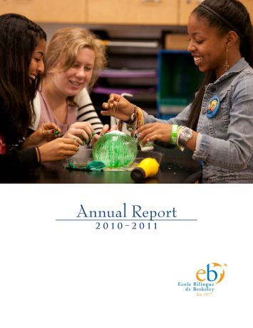 Annual Report - Ecole Bilingue de Berkeley