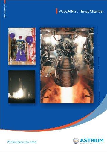 VULCAIN 2 : Thrust Chamber - EADS