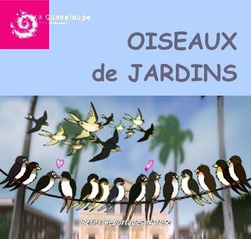 Plaquette oiseaux de jardins - Parc national de la Guadeloupe