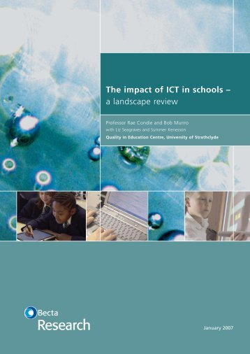 what is the impact of ict in education