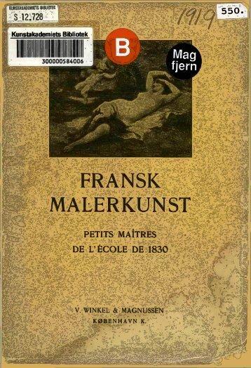 FRANSK MALERKUNST