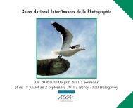 Salon National Interfinances de la Photographie - Atscaf