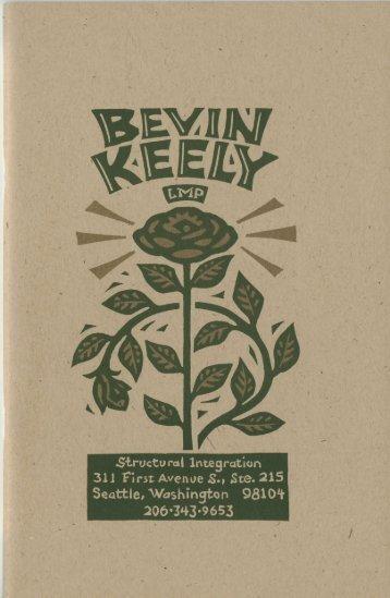 Client Handbook Part 1 - Bevin Keely