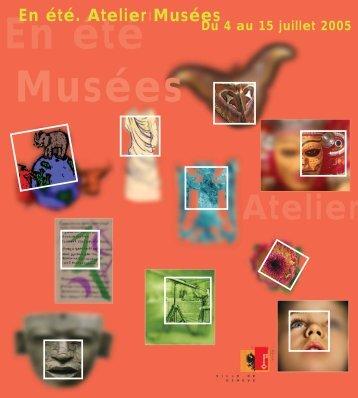 En été. Atelier Musées - Ville de Genève