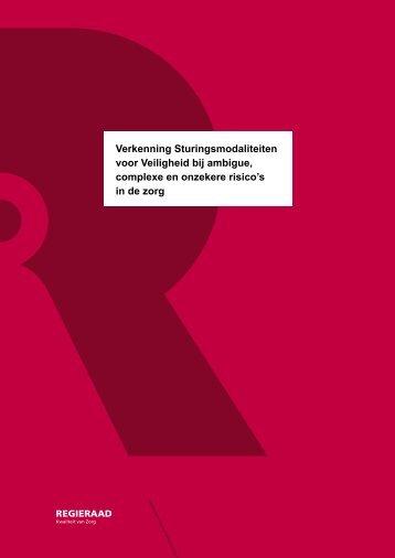 Verkenning Sturingsmodaliteiten voor Veiligheid bij ambigue ...