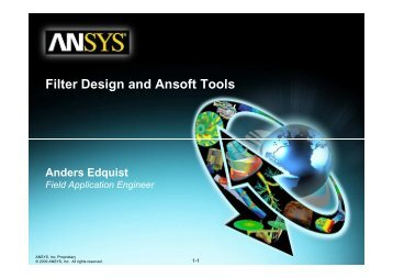Filter Design and Ansoft Tools - Ansys