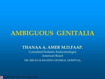 AMBIGUOUS GENITALIA.pdf - Dr. Erfan & Bagedo General Hospital