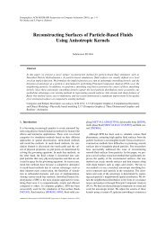 Reconstructing Surfaces of Particle-Based Fluids Using Anisotropic ...