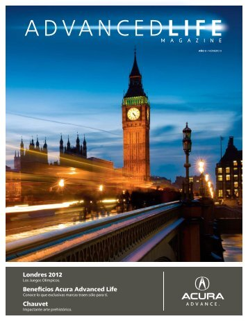 Acura Revista No9.indd - Acuraadvancedlife.com.mx