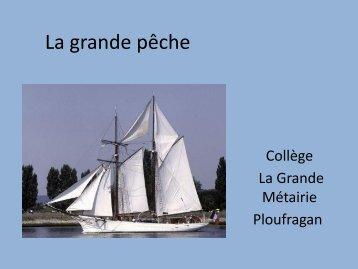 La grande pêche - Archives départementales des Côtes d'Armor