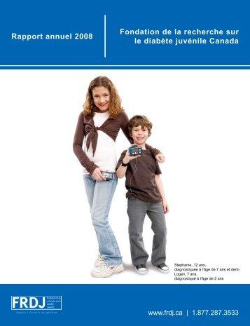 afin de consulter notre rapport annuel 2008 - FRDJ