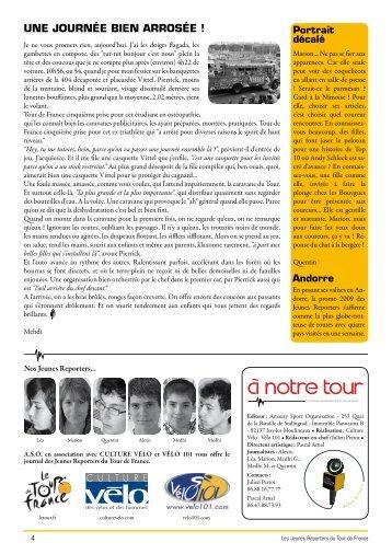 UNE JOURNéE BIEN ARROSéE ! - Le Tour de France