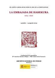 La Embajada de Hasekura - Ministerio de Educación, Cultura y ...