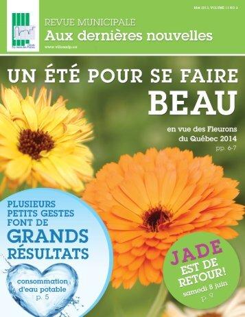 mai 2013 - Ville de Ste-Anne-des-Plaines