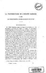 La protohistoire de l'Europe barbare d'apres les decouvertes ...