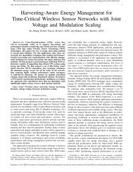 Harvesting-Aware Energy Management for Time-Critical Wireless ...
