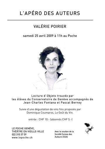 flyer en format pdf. - Le Poche
