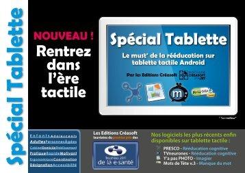 Spécial Tablette - Editions Créasoft