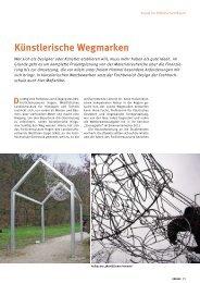 Künstlerische Wegmarken (Januar 2012, Wissenschaftsmagazin der ...