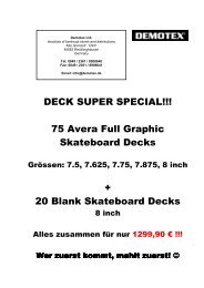 DECK SUPER SPECIAL!!! 75 Avera Full Graphic Skateboard Decks ...