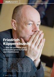 Friedrich Küppersbusch über Verbrauchergewerkschaften, die ...