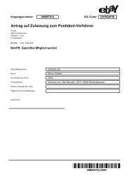 Antrag auf Zulassung zum PostIdent-Verfahren