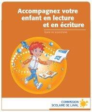 Accompagnez votre enfant en lecture et en écriture - Commission ...