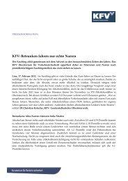 Dokument zum Download - Kfv