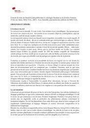 Extraits du texte de Daniel Kunth publié dans le catalogue ... - AFA