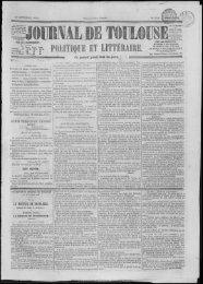 20 octobre 1854 - Bibliothèque de Toulouse