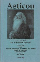 Asticou, cahier no. 3 (janvier 1969) - Réseau du patrimoine gatinois